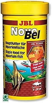 Ração Para Peixes Jbl Novobel 1000ml 165g Jbl Para Peixes