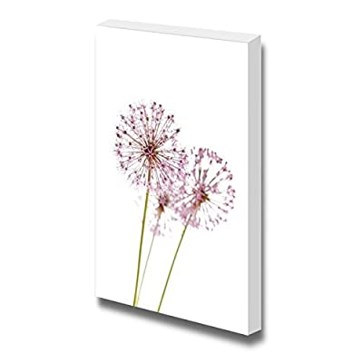 Canvas Prints Wall Art - Close Up of The Flowers of Some Chives - 48
