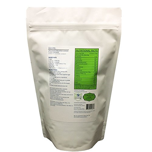 JEB FOODS Oven-Dried Cassava Flour, No Grittiness, No Smell (Manioc or Yuca Flour) nut- free, grain-free, gluten-free baking, non-gmo, 100% Naturally Grown (2LB) by JEB FOODS (Image #1)