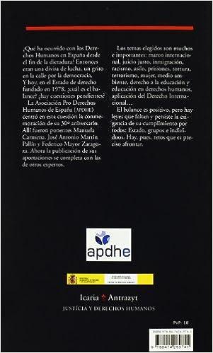 Descargas de libros electrónicos gratis para ipad mini Treinta años de Derechos Humanos: Balance en el año 2007 (Antrazyt) 8474269741 in Spanish RTF