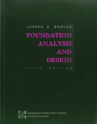 foundation analysis and design joseph e bowles 9780071188449 rh amazon com Pancreas Location Diagram Geotechnical Bowles