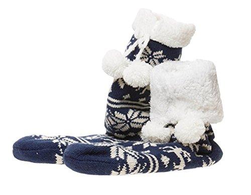Slipper Christmas Stocking Fleece Lining