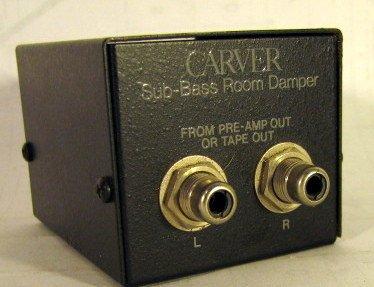 Amplifier Carver (Carver Sub-Bass Room Damper)