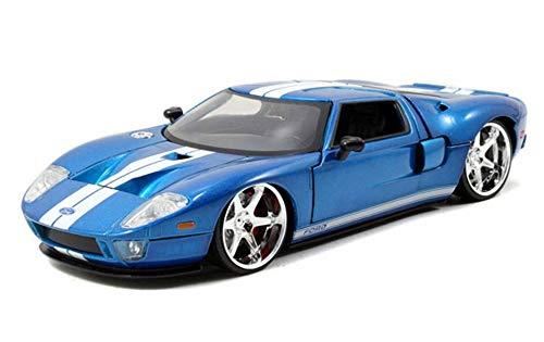 [해외]Ford GT Hard Top Fast & Furious - Jada 971774 - 124 Scale Diecast Model Toy Car / Ford GT Hard Top, Fast & Furious - Jada 971774 - 124 Scale Diecast Model Toy Car