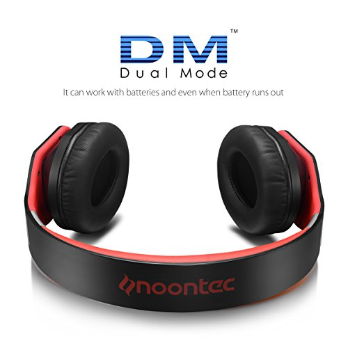 Noontec Noise Cancelling Over-Ear Headphones (Best Product For Engine Knocking)