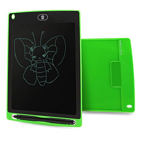 Topseller 8.5'' Writing Tablet LCD Digital Drawing Pad Drawing Writing Memo Message Board Notepad (Green) by Unknown