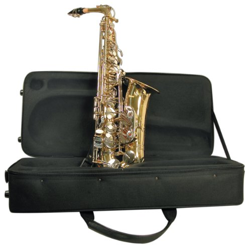 Mirage SX60A Polished Brass Alto Sax with Case from Mirage