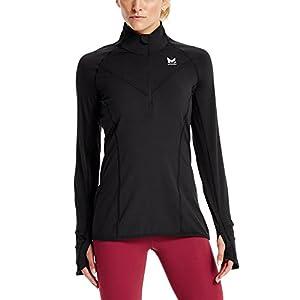 6b94e0347c8 Mission Women's VaporActive Stamina Lightweight 1/4 Zip Long Sleeve Shirt