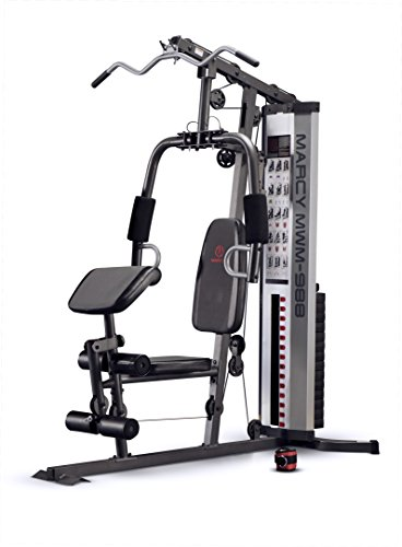 Weight System - Marcy Multifunction Steel Home Gym 150lb Stack MWM-988