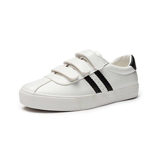 respiraci de zapatos velcro Casual zapatos plana de FSY641