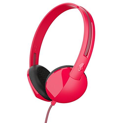 Skullcandy S5LHZ J570 Anti Without Mic Headphone  Burgundy Red