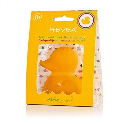 Hevea Badespielzeug Ente Alfie Junior aus Naturkautschuk