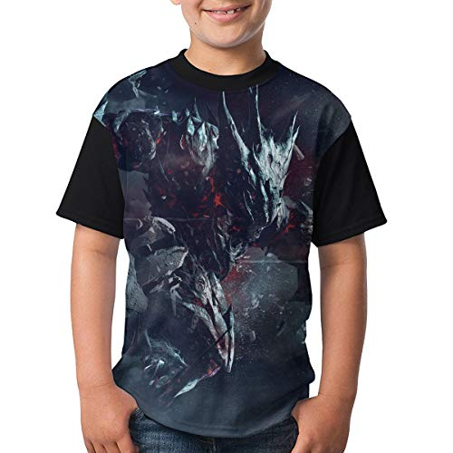 ASH VS. SMASHER OPERATION CHIMERA OUTBREAK Kid Boy's Girl Short Sleeve Round Neck Funny Tops T-shirt 32 for $<!--$19.98-->