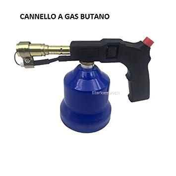Soldador Soplete quemador de gas butano Soplete ricaribabile con ajuste de llama: Amazon.es: Bricolaje y herramientas