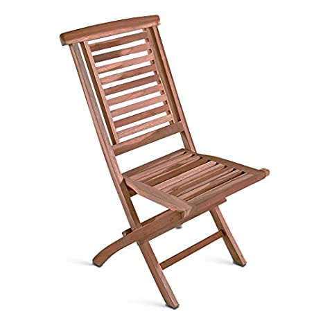 SAM® teca de madera silla de jardín, silla plegable hantown ...
