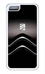 iphone 4s Case, iphone 4s Cases - Protective Soft-Interior Scratch Protection Case for iphone 4s Citroen Car Logo 7 Soft Flexible Extremely Thin White Case for iphone 4s