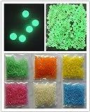 JellyBeadz Brand Water Bead Gel 1- 10 Gram Pack -Glow-In-The-Dark- Green