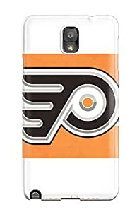 Durable Case For The Galaxy Note 3- Eco-friendly Retail Packaging(philadelphia Flyers (15) )