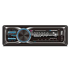 Blaupunkt WASHINGTON 100 MP3 and FM Car Stereo Receiver with USB, SD, and AUX Port and Remote Control