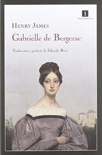 Gabrielle de Bergerac par James