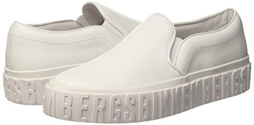 2012 Donna Bianco Iconic Bikkembergs white Infilare Sneaker 4Yfw8qZ