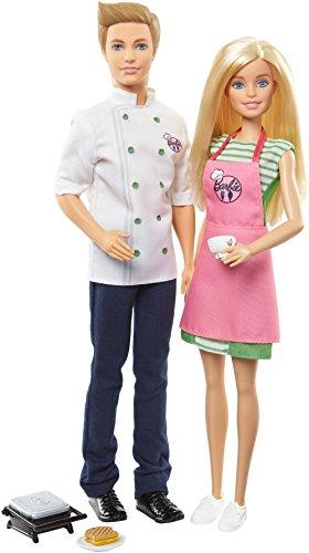 Barbie and Ken Cafè Set (Doll Barbie Ken And)