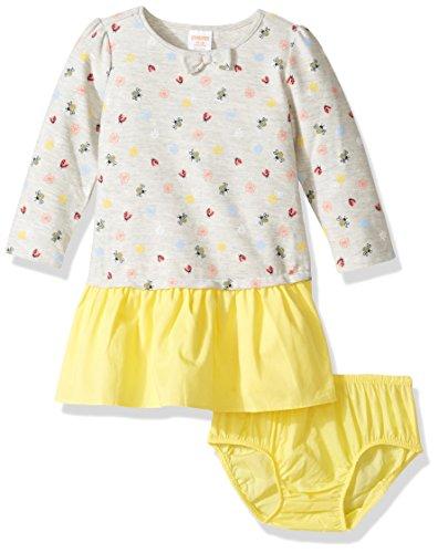 Gymboree Baby Girls' Toddler Ladybug Dropwaist Dress, Multi, 5T]()