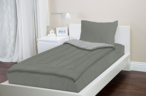 Zipit bedding set twin extra long xl college bedding for How long should a bed mattress last