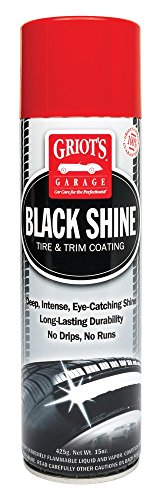 Griot's Garage 10938 Black Shine Tire & Trim Coating Best Tire Dressing