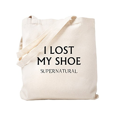 CafePress - I Lost My Shoe - Natural Canvas Tote Bag, Cloth Shopping Bag by CafePress