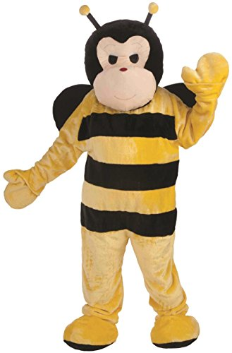 Bumble Bee Mascot Costumes (Forum Novelties Men's Bumble Bee Plush Mascot Costume Funny Animal One Size Fits Most)