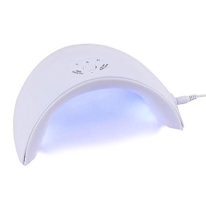 TDPYT Nuevo 36W Uv Lámpara Led Secador De Uñas Para Todos Los Tipos Gel 12 Led