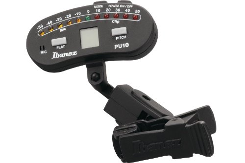 Ibanez PU10 BH-01 Chromatic Clip Tuner for Guitar Bass for sale  Delivered anywhere in USA