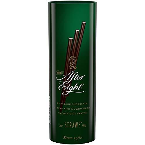 NESTLÉ After Eight Rich Dark Chocolate & Mint Straws, 90 Grams