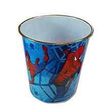 Spiderman Plastic Trash Can [Kitchen]