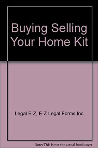 The EZ Legal Forms To BuyingSelling Your Home Do It Yourself Kit - Ez legal forms