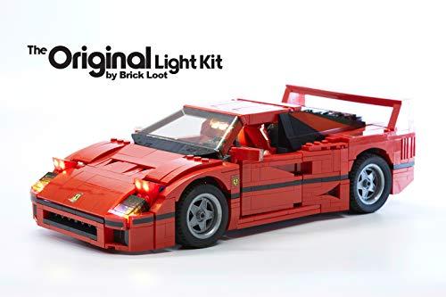 Brick Loot Lighting Kit for Your Lego Ferrari F40