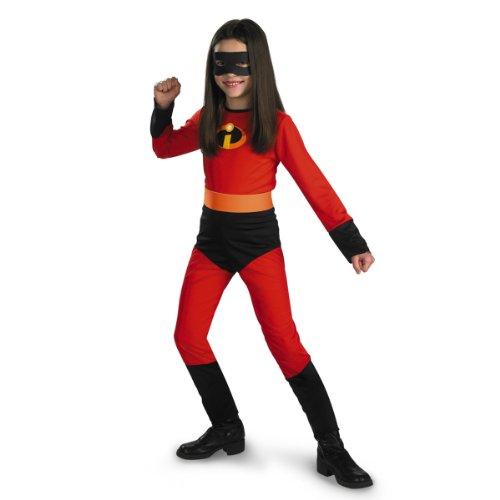 Disfraz disfraces para niñas, The Incredibles Disney Violet, 7-8, 1 ea (Mediano (tamaños 7-8))