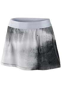 Nike Womens Printed Slam Tennis Skirt Gray