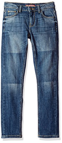 Arizona Boys Jean (GUESS Big Boys' Denim Skinny Pants, Arizona Dark Wash, 12)