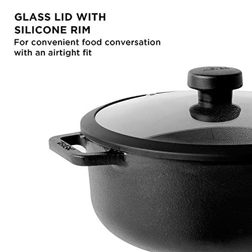 Meyer-Pre-Seasoned-Cast-Iron-Dutch-OvenSauteuse-with-Glass-Lid-20cm