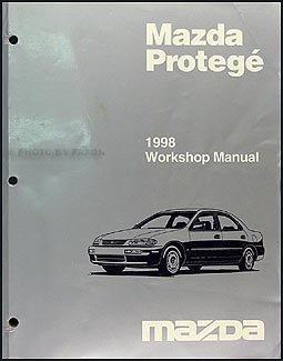 1998 mazda protege repair shop manual original mazda amazon com books rh amazon com 1997 1998 Mazda Protege 1994 Mazda Protege