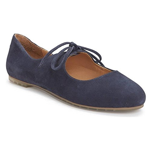 Women's Flat Me Jane Suede Mary Dark Too Cacey Navy Kid 4xqxawUT5