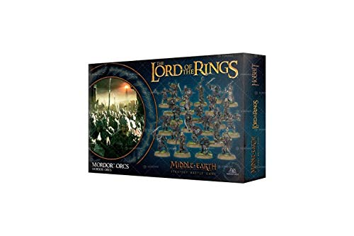Lord of the Rings: Mordor Orcs (Lord Of Rings Games Workshop)