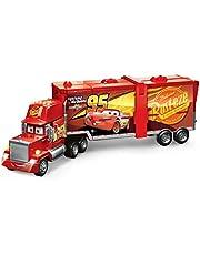 Cars - Supermega Mack, transportador de coches de juguete (Mattel FPK72)