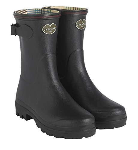 LE CHAMEAU 1927 Women's Giverny Jersey Lined Low Boot 0247 Noir