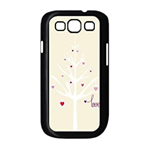 Customized Dual-Protective Case for Samsung Galaxy S3 I9300, Love Tree Cover Case - HL-R657826