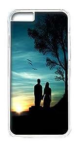 IPhone 6 Plus Case, IPhone 6 Plus Cases Hard Case Romantic Sunset Case For IPhone 6 Plus, IPhone 6 Plus PC Transparent Case