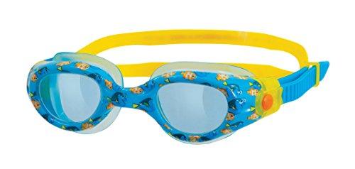 Zoggs Lunettes de natation pour enfant Imprimé «Le Monde de Dory» et «Le Monde de Némo» jaune/bleu