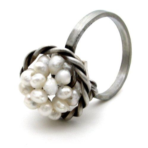 Inglés Emmanuela anillo, de plata de ley de Chevalier anillos de boda, Inglés hecho
